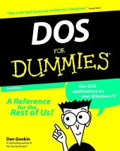 DOS For Dummies: Edition 3