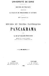 Pañcakrama