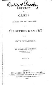 Reports of Cases Argued and Determined in the Supreme Court of the State of Illinois: Volume 9