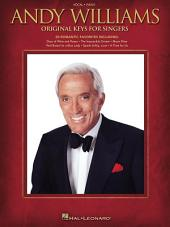 Andy Williams - Original Keys for Singers (Songbook)