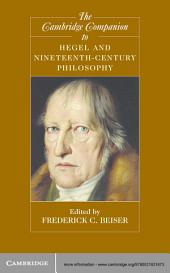 The Cambridge Companion to Hegel and Nineteenth-Century Philosophy