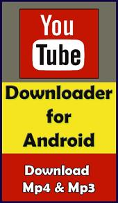 Youtube Downloader for Android: Download mp4 and mp3