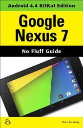 Google Nexus 7: Android 4.4 KitKat Edition