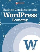Business Considerations in WordPress Economy