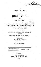 Constitution de LÁngleterre