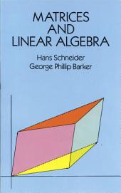 Matrices and Linear Algebra