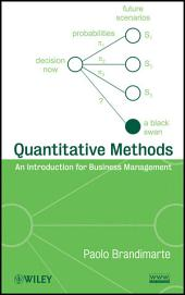 Quantitative Methods: An Introduction for Business Management