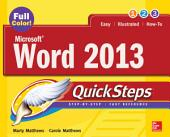 Microsoft® Word 2013 QuickSteps: Edition 3