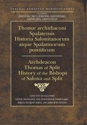 Historia Salonitanorum Atque Spalatinorum Pontificum