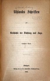 Uhlands schriften zur geschichte der dichtung und sage: Band 6