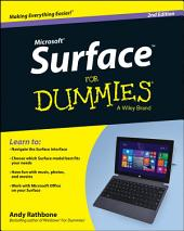 Surface For Dummies: Edition 2