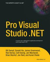 Pro Visual Studio .NET
