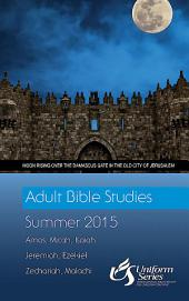Adult Bible Studies Summer 2015 Student