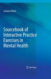Sourcebook of Interactive Practice Exercises in Mental Health