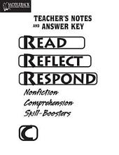 Book C Answer Key: Nonfiction Comprehension Skill-Boosters