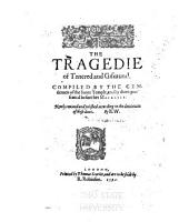 The Tragedie of Tancred and Gismund: Volume 21