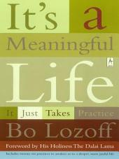 It's a Meaningful Life: It Just Takes Practice