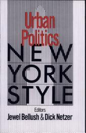 Urban Politics, New York Style