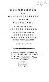 Schoolboek der geschiedenissen van ons vaderland