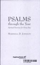 Psalms Through the Year: Spiritual Exercises for Every Day