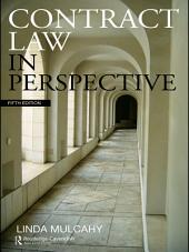 Contract Law in Perspective: Edition 5