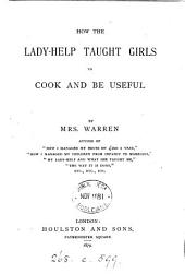 How the lady-help taught girls to cook and be useful