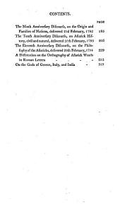 The works of Sir William Jones: with the life of the author by Lord Teignmouth. In thirteen volumes, Volume 3