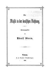 Die Musik in der deutschen Dichtung