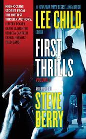 First Thrills: Volume 3: Short Stories