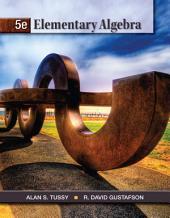 Elementary Algebra: Edition 5