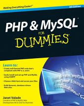 PHP and MySQL For Dummies: Edition 4