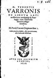 De lingua Latina et de Analogia