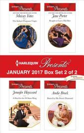Harlequin Presents January 2017 - Box Set 2 of 2: The Italian's Pregnant Virgin\A Deal for the Di Sione Ring\Bought to Carry His Heir\Bound by His Desert Diamond