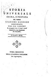 Storia Universale Sacra, e Profana Tomo XVII
