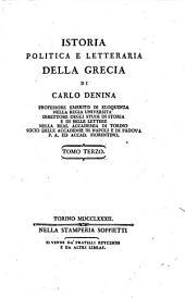 Istoria Politica E Letteraria Della Grecia