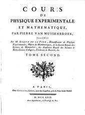 Cours de physique experimentale et mathematique,.