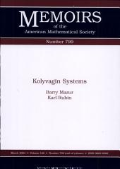 Kolyvagin Systems: Volume 168, Issue 799