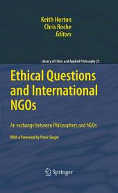 Ethical Questions and International NGOs: An exchange between Philosophers and NGOs