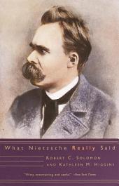 What Nietzsche Really Said