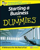 Starting a Business For Dummies: Edition 2