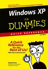 Windows XP For Dummies Quick Reference: Edition 2