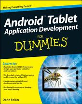 Android Tablet Application Development For Dummies