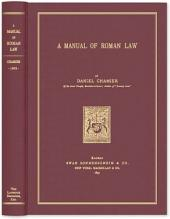 A Manual of Roman Law