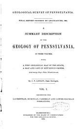 Final Report Ordered by Legislature, 1891