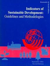 Indicators of Sustainable Development: Guidelines and Methodologies