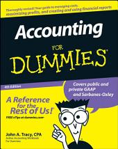 Accounting For Dummies: Edition 4