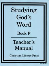 Studying God's Word: Book F