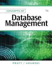 Concepts of Database Management: Edition 7