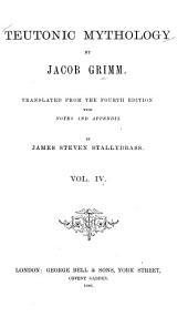 Teutonic Mythology: Volume 4