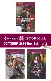 Harlequin Historical October 2016 - Box Set 1 of 2: Western Christmas Proposals\Kidnapped by the Highland Rogue\Mistaken for a Lady